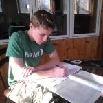 Barrington Student Doing ACT Math Tutoring